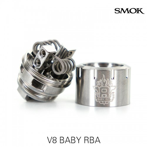 SMOK Alien Baby AL85 kit + RBA base